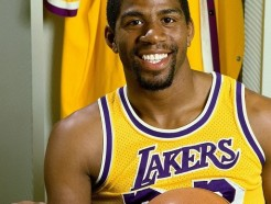 Magic Johnson Private Signing
