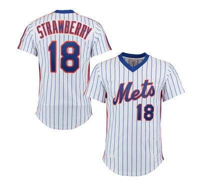 big sale d9f1f b726e DARRYL STRAWBERRY signed Mets jersey