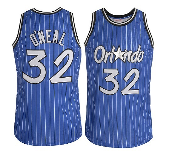 best website f031e 9d908 SHAQUILLE O'NEAL signed Orlando Magic jersey