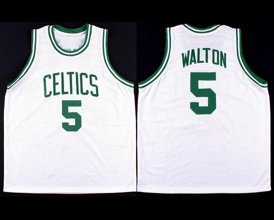 timeless design 81308 2abbe BILL WALTON signed Celtics jersey