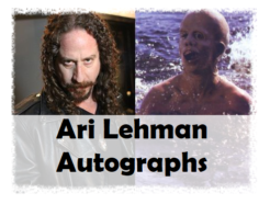 Ari Lehman (Jason from original Friday the 13th) Private Signing