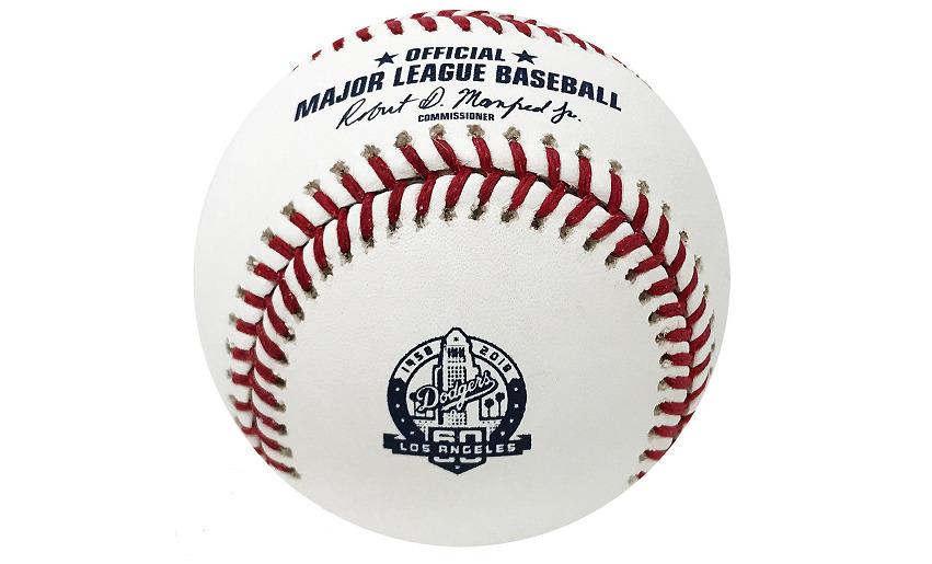 Rawlings DODGERS 60th Anniversary Baseballs – New in Box