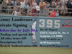 Kenny Landreaux Private Signing